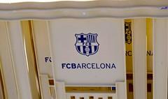 TANCA GROGA AMB L'ESCUT DEL FUTBOL CLUB BARCELONA (Yeagov C) Tags: tanca tancagroga escut escutdelfutbolclubbarcelona futbolclubbarcelona 2017 barcelona catalunya