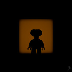 Shadow (335/100) - Phone Home (Ballou34) Tags: 2016 7dmark2 7dmarkii 7d2 7dii afol ballou34 canon canon7dmarkii canon7dii eos eos7dmarkii eos7d2 eos7dii flickr lego legographer legography minifigures photography stuckinplastic toy toyphotography toys puteaux îledefrance france fr 7d mark 2 ii eos7d stuck plastic blackwhite light shadow photgraphy enevucube minifigure 100shadows 2017 phone home et movie space