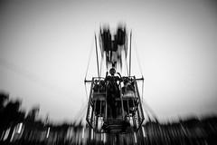 Ferris Wheel Girl (Extinted DiPu) Tags: canon 1018 wide lens ferris wheel camera bera pabna circus blackandwhite monochrome girl ladies scout exploring explore inexplore irepresentbangladesh bangladesh ngc