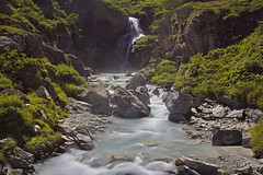 Chiare, fresche et dolci acque / Clear, sweet, fresh water (Val di Rehmes, Valle D'Aosta, Italy).jpg (AndreaPucci) Tags: valledaosta waterfall valdirhemes granparadiso italy italia nature alps andreapucci canoneos60