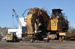 03-28-2017 Big Cat (Missabefan) Tags: caterpillar cat 6060fs mineequipment equipment largeequipment heavyequipment mining