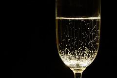 Bubbles (aleadam) Tags: synecdoche sinécdoque flickrfriday sparklingwine wine bubbles glass