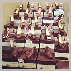 chocolate shoes #sgcom #bologna #wannago #picoftheday... (arakiboc) Tags: bologna picoftheday cioccoshow wannago sgcom igersfirenze igerstoscana uploaded:by=flickstagram instagram:venue=2969474 instagram:venuename=bologna instagram:photo=59056925822139625016780855 cioccoshow2013