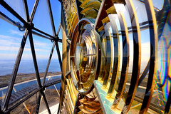 Another shot of the hyper radial lens, Hyskeir Lighthouse (iancowe) Tags: lighthouse glass lens scotland birmingham brothers scottish inner stevenson rum chance lantern minch canna hebrides lenses rhum northernlighthouseboard nlb chancebrothers hyskeir