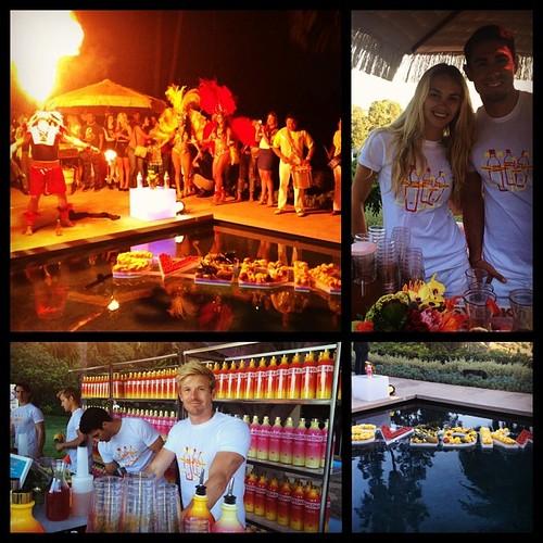 Svedka event was a blast in the hills tonight! #bartenders #fire #dancers #summerlove #werk #beststaff #svedka #staffing #events #eventlife #servers #summer #200proofla #200proof