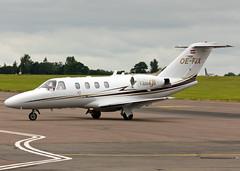 OE-FIX Cessna 525 CitationJet CJ1+ (FlyingAnts) Tags: norwich nwi egsh cessna525citationjetcj1 oefix saxonair