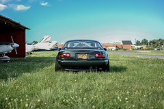 Miata takes flight (Christian J. Zanetich) Tags: lotus seats 1997 miata roadster eunos clubroadster mediton