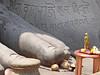 Le pied de Gomateshwara (Sravanabelgola, Inde) (dalbera) Tags: india religion karnataka inde gomateshwara offrandes sravanabelgola dalbera jaïnisme cultejaïn