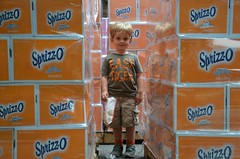 Everett Getting Lost Among The Orange Sprizz-O (Joe Shlabotnik) Tags: orange princeton everett sprizzo reunions 2014 princetonreunions afsdxvrzoomnikkor18105mmf3556ged justeverett may2014 reunions2014