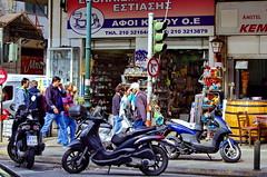 Athènes 559 le marché couvert rue Evripidou (paspog) Tags: market athens greece markt griechenland marché grèce athènes evripidou