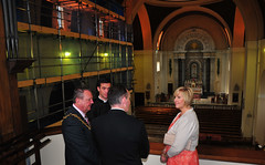 The Mayor & Mayoress of Wirral visit The Dome of Home (sab89) Tags: new sea irish building heritage home church st skyline work canon river paul shrine brighton catholic tour mayor steve shrewsbury peter dome mersey wallasey wirral councillor diocese philomena foulkes montjean mayoress