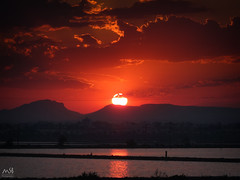 San Pedro de Pinatar. Junio 2014_5 (MSB.Photography) Tags: sunset sky españa clouds atardecer spain sony salinas murcia cielo lamanga hdr saltworks sanpedrodepinatar hx50 nex7 dschx50