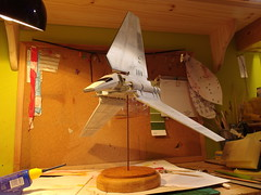 Commishun Work (Shrimpkin) Tags: star fighter tie shuttle imperial wars advanced airfix revell bwing ywing finemolds