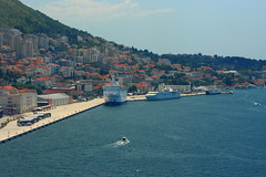 luka dubrovnik (dmytrok) Tags: cruise sea meer ship croatia more cruiseship dubrovnik schiff adriat