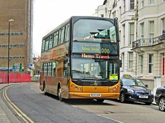 Hams Travel of Flimwell MC52HAM (harryjaipowell) Tags: bus volvo coach hastings havelockroad eastlancs myllennium b7tl railreplacementbusservice flimwell vyking hamstravel mc52ham nc4632f