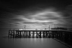 Victoria Pier East (sammydingle) Tags: wood sky water clouds canon river pier big long exposure sigma victoria lee 7d nd hull grad 1020 circular humber stopper eastyorkshire poloriser