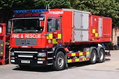 Humberside - WX54VMR - Beverley - H04T6 - PM (matthewleggott) Tags: new rescue man fire high engine marshall service dimension appliance sv beverley volume unit pumping humberside hvpu wx54vmr pm066
