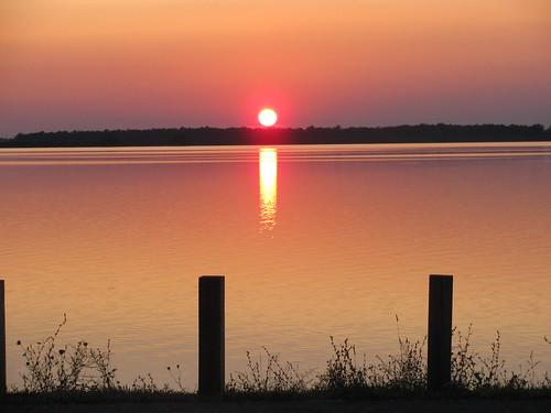 Sunset at Bresler Reservoir, Lima, OH