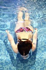 * (PattyK.) Tags: summer me pool girl swimming myself hotel nikon underwater greece swimsuit myphotos ilovephotography ioannina giannena inthepool   nikond3100 grandserai