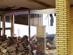 American Mall Demolition (Nicholas Eckhart) Tags: ohio usa retail america mall us lima demolition oh stores 2014 deadmall cafaro americanmall