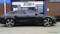 """Audi diamond cut alloy wheels refurbished by We Fix Alloys • <a style=""""font-size:0.8em;"""" href=""""http://www.flickr.com/photos/75836697@N06/14689351909/"""" target=""""_blank"""">View on Flickr</a>"""