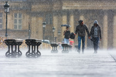 #parisaumoisdaout (Filip42) Tags: paris pluie pontdesarts
