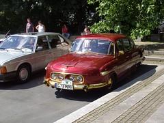 1959 Tatra 603 (Davydutchy) Tags: germany deutschland thringen rally august thuringia register annual 20 allemagne 20th duitsland tatra trd 2014 jahrestreffen suhl nmecko