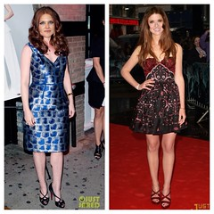 Head Swap: Debra Messing and Bonnie Wright (Carter Travels) Tags: head harry potter age american swap bonnie british wright debra manip headswap messing f2f ageswap