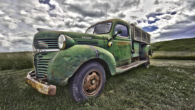 old sky field truck canon dramatic sigma pickup 1958 dodge 1020 hdr baru relic tonemapping sigma1020lens canon7d
