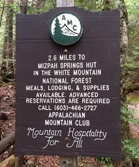 handcarved trail signage (wesleymiles) Tags: whitemountains nh trail hut monroe pierce amc crawford eisenhower 4000 peakbagging footers lakeoftheclouds ammonoosuc