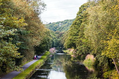 Calder & Hebble Canal, Nr Brighouse, West Yorkshire,UK (Rob .S.) Tags: canals waterways elland