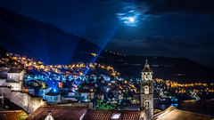 Search Lights over Dubrovnik Croatia_ (GLN IMAGES) Tags: city night croatia dubrovnik adriatic hrvatska
