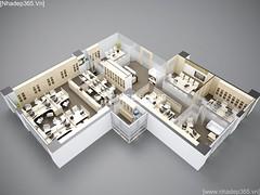 Thiết kế nội thất Văn Phòng công ty VJEC_04