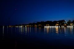 Kaivopuisto night (Olli Ronimus) Tags: sea color night boat helsinki view calm