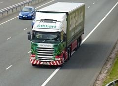 H6779 - PO63 PKE (Cammies Transport Photography) Tags: truck ivy lorry arabella eddie flyover scania esl m74 lockerbie stobart r440 h6779 po63pke