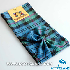 Clan Baird Ancient Tartan Mini Sash