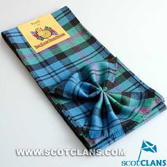 Clan Baird Ancient Tartan Mini Sash