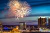 Skyline Celebration (Sky Noir) Tags: longexposure travel usa photography virginia fireworks richmond celebration va 4thofjuly 804 rva skynoir