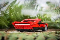 31024 Low Rider (Peteris Sprogis) Tags: scale car set model lego low ps vehicle creator rider alternate lug moc 2014 afol 31024 legomoc peterissprogis latlug pterissprois
