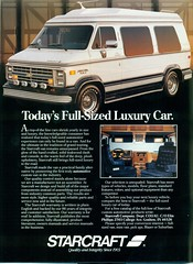 1989 Chevrolet Conversion Van by Starcraft (coconv) Tags: pictures auto old classic cars chevrolet home car by vintage magazine ads advertising cards photo flyer automobile conversion post image photos antique postcard ad picture images advertisement vehicles photographs chevy card photograph postcards vehicle motor 1989 autos collectible van rv collectors starcraft camper brochure automobiles dealer 89 recreational prestige