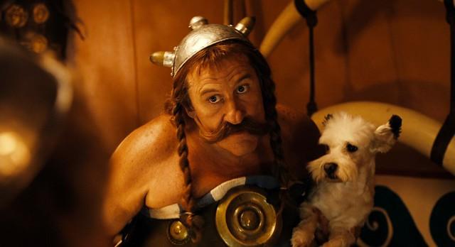 Gérard Depardieu dans Astérix et Obélix : Mission Cléopâtre