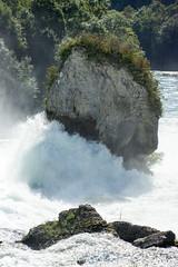 Rhine Falls (Bephep2010) Tags: rock river schweiz switzerland waterfall wasserfall minolta sony schaffhausen alpha fluss rhine rhein 77 felsen rheinfall 70200mm neuhausen rhinefalls neuhausenamrheinfall 2682118 slta77v