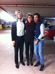 Mum, Marcus, Jules
