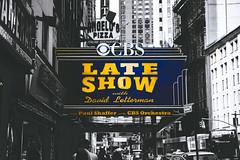 Late Show, NYC (jethansen) Tags: city nyc travel bw usa ny newyork canon vintage lateshow letterman davidletterman vsco 5dmarkiii
