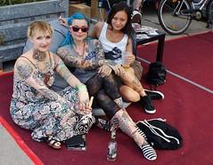 Tattoo Models (tor-falke) Tags: girl beautiful tattoo ink nice model skin sony convention tatouage tattooed sexygirl tätowiert sonyalpha tätowierer tattoomodel tätowierte alpha200 torfalke flickrtorfalke