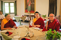 H.H. the Sakya Trizin arrived at Bir to attend the grand puja of Chime Phagma Nyingtig in Orgyen Tobgyal Rinpoche's Residence. 18-8-2014 (jamyang190) Tags: india buddha buddhist indian buddhism tibet monks pooja lama ritual tibetan himachal puja bir rinpoche himachalpradesh  sakya tibetanbuddhism vajrayana    whitetara tibetanbuddhist   drupchen drubchen sakyatrizin    dzongsarkhyentserinpoche     sakyapa    orgyentobgyalrinpoche   chokingrinpoche        chimephakmenyingtik