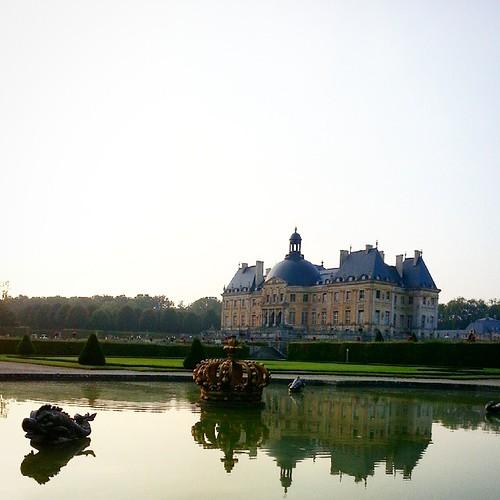 #chateau #castle #castelo #reflex #reflexo #France #França