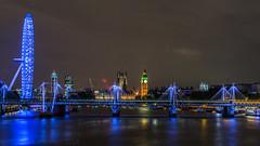 London   |   London Postcard (JB_1984) Tags: londoneye ferriswheel goldenjubileefootbridge footbridge bridge river thames riverthames palaceofwestminster housesofparliament bigben embankment victoriaembankment southbank westminster cityofwestminster london england uk unitedkingdom nikon d7100 nikond7100 explore explored