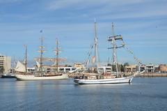 DSC_1585 Europa and One & All on Port River, South Australia (johnjennings995) Tags: europa southaustralia tallships portadelaide oneandall portriver