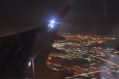 Bye Bye Istanbul (Bristol Airport Spotter) Tags: city night turkey lights saw airport pegasus turkiye wing istanbul off airbus take airlines departure sabiha a320 havalimani gokcen ltfj tcdcd